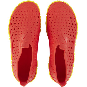 speedo Jelly WaterShoes Kinder lava red/empire yellow
